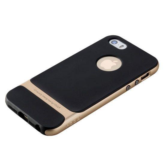 Etui na telefon iPhone 6 / 6s Rock Royce - złote.