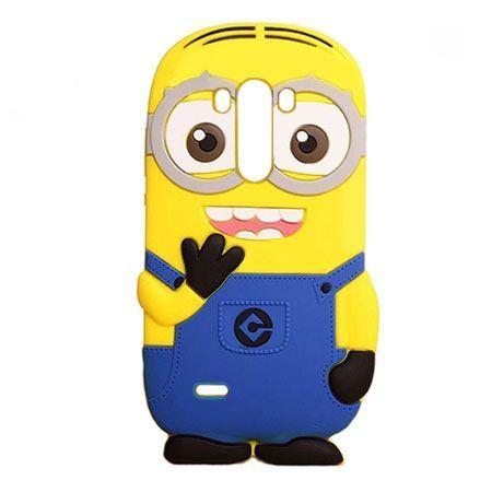 LG G3 etui gumowe 3D minionki . PROMOCJA!!!