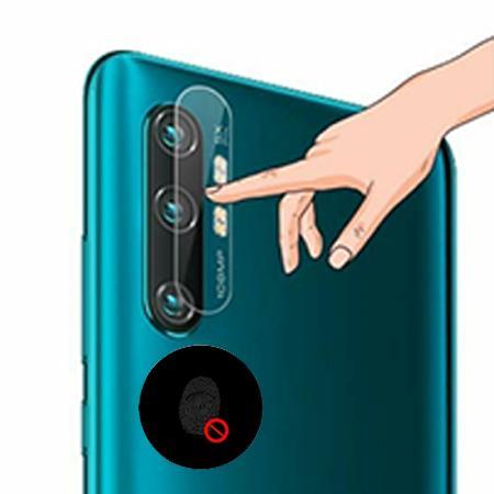 Xiaomi Mi Note 10 -  Hartowane szkło na aparat, kamerę z tyłu telefonu.