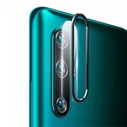 Xiaomi Mi Note 10 - Hartowane szkło na Tylny aparat z ramką Alu.