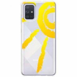 Etui na Samsung Galaxy A51 - Wakacyjne słońce.