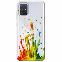 Etui na Samsung Galaxy A51 - Kolorowy splash.