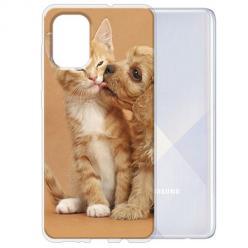 Etui na Samsung Galaxy A51 - Jak pies z kotem
