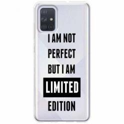 Etui na Samsung Galaxy A71 - I Am not perfect…