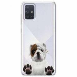 Etui na Samsung Galaxy A71 - Słodki szczeniaczek.