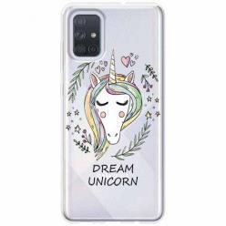 Etui na Samsung Galaxy A71 - Dream unicorn - Jednorożec.