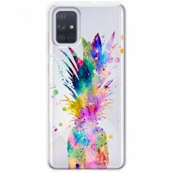 Etui na Samsung Galaxy A71 - Ananasowa eksplozja.