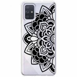 Etui na Samsung Galaxy A71 - Kwiatowa mandala.