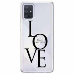 Etui na Samsung Galaxy A71 - All you need is LOVE.