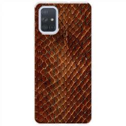 Etui na Samsung Galaxy A71 - Skóra węża