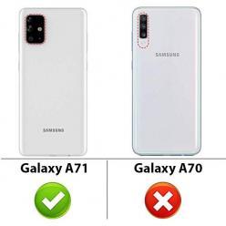 Etui na Samsung Galaxy A71 - Miś z wypiętą pupą