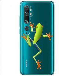 Etui na Xiaomi Mi Note 10 Pro - Zielona żabka.