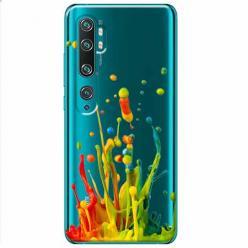 Etui na Xiaomi Mi Note 10 Pro - Kolorowy splash.