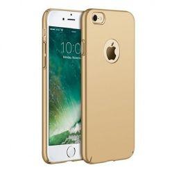 Matowe Etui na telefon iPhone SE 2020 - SLim MattE - Złoty.