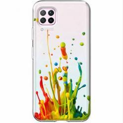 Etui na Huawei P40 Lite - Kolorowy splash.