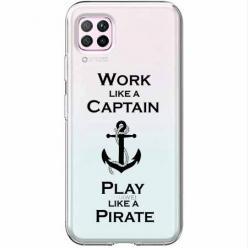 Etui na Huawei P40 Lite - Work like a Captain…