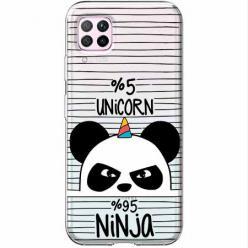 Etui na Huawei P40 Lite - Ninja Unicorn - Jednorożec.