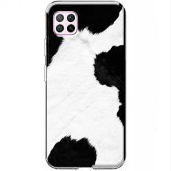 Etui na Huawei P40 Lite - Łaciata krowa