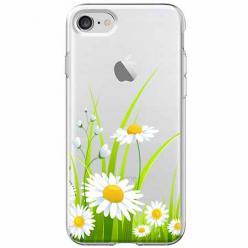 Etui na iPhone SE 2020 - Polne stokrotki.