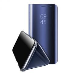 Etui na Galaxy S6 Edge Flip Clear View z klapką - granatowy.