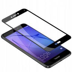Huawei P8 hartowane szkło 5D Full Glue - Czarny.