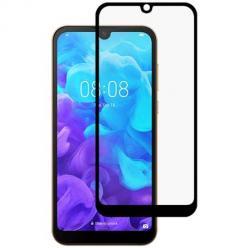 Huawei Y5P hartowane szkło 5D Full Glue - Czarny.