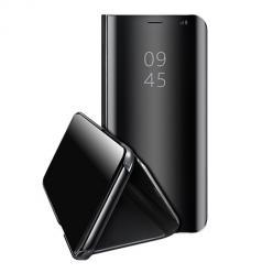 Etui na  Xiaomi Redmi Note 9s Flip Clear View z klapką - Czarny.