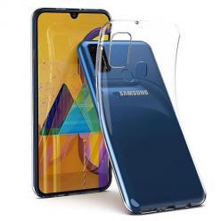 Etui na Samsung Galaxy M21 silikonowe crystal case - bezbarwne.