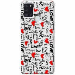 Etui na Samsung Galaxy A21s - Love, love, love…