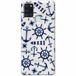 Etui na Samsung Galaxy A21s - Ahoj wilki morskie.