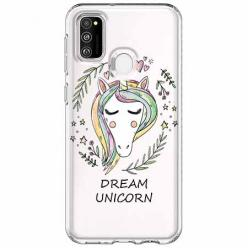 Etui na Samsung Galaxy M21 - Dream unicorn - Jednorożec.