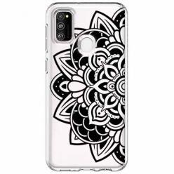 Etui na Samsung Galaxy M21 - Kwiatowa mandala.