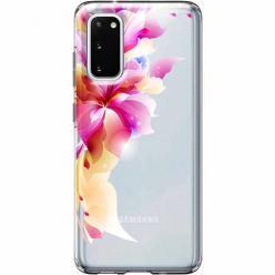 Etui na Samsung Galaxy S20 - Bajeczny kwiat.