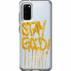 Etui na Samsung Galaxy S20 - Stay Gold.