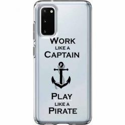 Etui na Samsung Galaxy S20 - Work like a Captain…