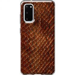Etui na Samsung Galaxy S20 - Skóra węża