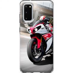 Etui na Samsung Galaxy S20 - Motocykl ścigacz