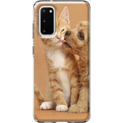 Etui na Samsung Galaxy S20 - Jak pies z kotem
