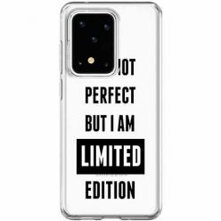 Etui na Samsung Galaxy S20 Ultra - I Am not perfect…