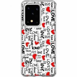 Etui na Samsung Galaxy S20 Ultra - Love, love, love…