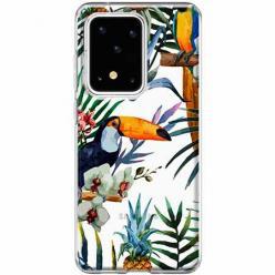 Etui na Samsung Galaxy S20 Ultra - Egzotyczne tukany.