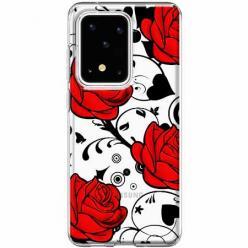 Etui na Samsung Galaxy S20 Ultra - Czerwone róże.