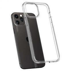 Etui na iPhone 12 Pro silikonowe crystal case - bezbarwne.