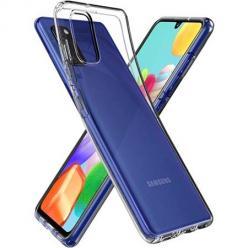 Etui na Samsung Galaxy A41 silikonowe crystal case - bezbarwne.