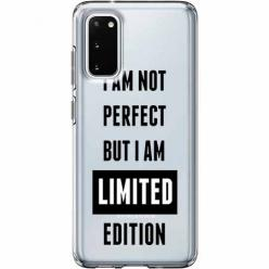Etui na Samsung Galaxy S20 Plus - I Am not perfect…