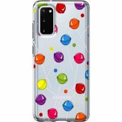 Etui na Samsung Galaxy S20 Plus - Kolorowe lizaki.