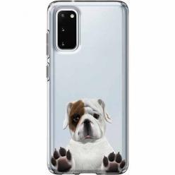 Etui na Samsung Galaxy S20 Plus - Słodki szczeniaczek.