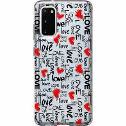 Etui na Samsung Galaxy S20 Plus - Love, love, love…