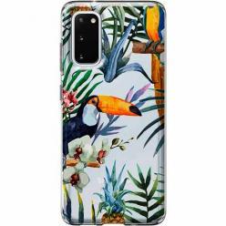 Etui na Samsung Galaxy S20 Plus - Egzotyczne tukany.