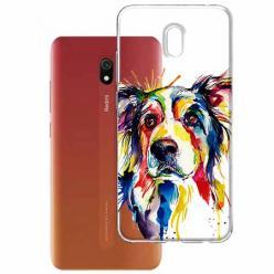 Etui na Xiaomi Redmi 8A - Watercolor pies.